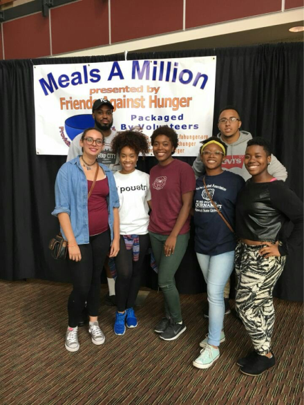 Packing meals for Meals-A-Million